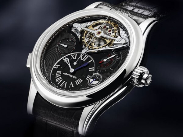 Chronographe ExoTourbillon de la collection Montblanc Villeret 1858 © Montblanc