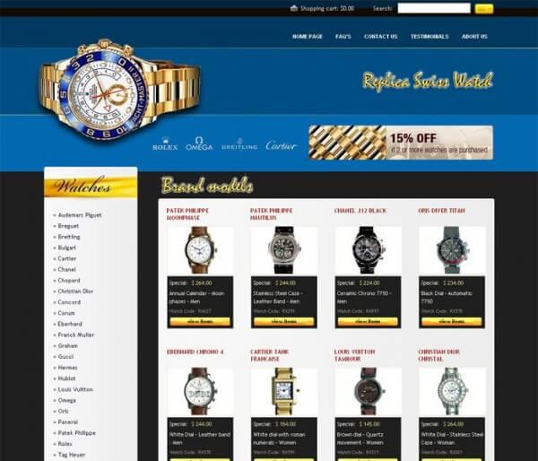 La Fédération de l'industrie horlogère suisse vient de lancer une initiative des plus originales: un site banal de ventes de contrefaçons qui, lui aussi, n'est pas ce qu'il prétend être. A partir de 30 secondes ou sous l'impulsion de certaines manip