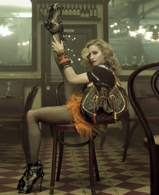 Madonna pour Louis Vuitton - Campagne Printemps / Ete 2009 © Louis Vuitton