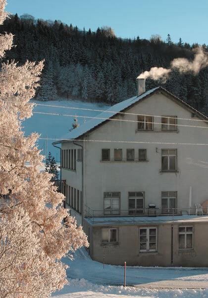 La manufacture Janvier à Sainte-Croix en Suisse © Vianney Halter