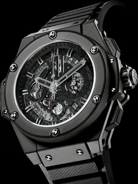 King Power UNICO All Black © Hublot