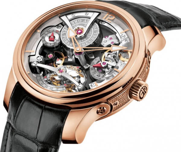 Double Tourbillon Technique © Greubel Forsey