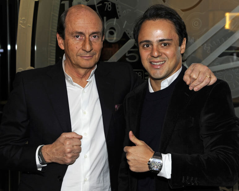 Felipe Massa Test Drives Richard Mille Watches Fhh Journal