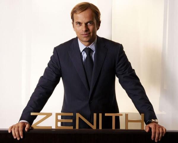 Jean-Frédéric Dufour, Président et CEO de Zenith © Zenith