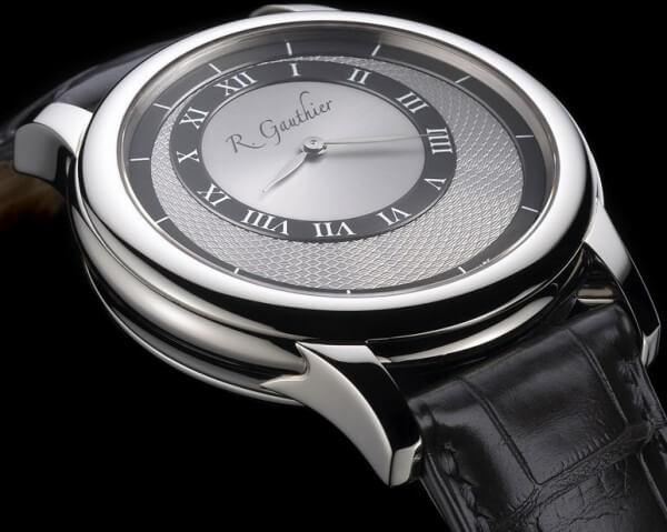Prestige de Romain Gauthier en or gris et cadran gris © Romain Gauthier