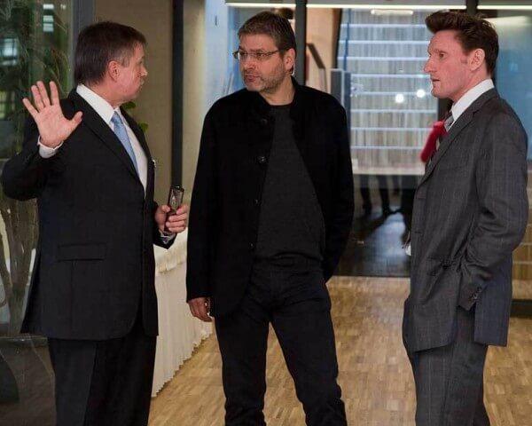 Emmanuel Vuille, Robert Greubel et Stephen Forsey © Greubel Forsey
