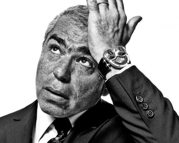 Laurent Picciotto, propriétaire de Chronopassion à Paris © Stéphane de Bourgies