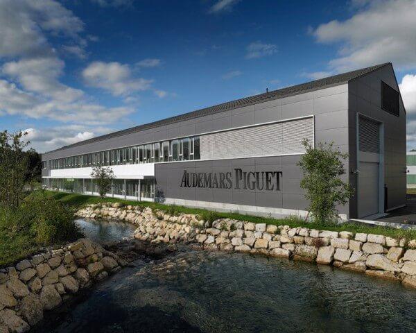 La nouvelle usine d'Audemars Piguet, au Brassus, est le premier bâtiment industriel à obtenir le label Minergie-Eco® © Audemars Piguet