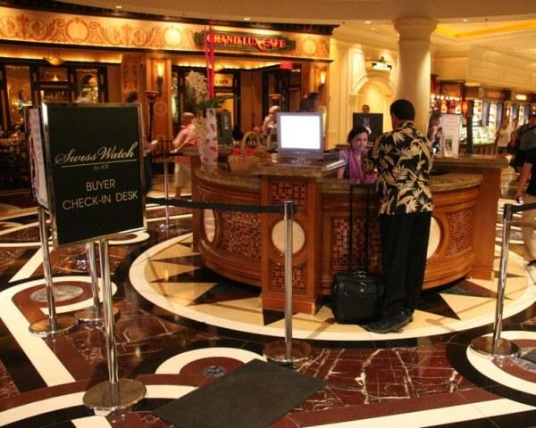 Le salon JCK de Las Vegas © JCK