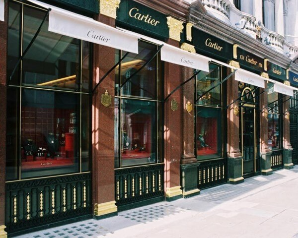 Magasin londonien de Cartier au 175-176 New Bond Street © Cartier