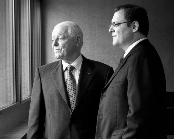 Philippe Stern, président, et Thierry Stern, vice-président, de Patek Philippe © Patek Philippe