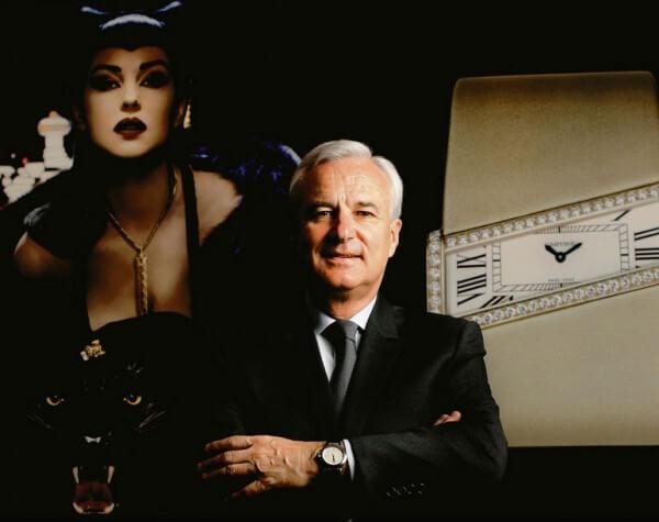 Bernard Fornas, CEO de Cartier © Cartier