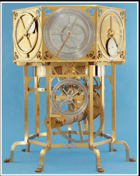 L'astrarium de Dondi est une matérialisation mécanique du système géocentrique conçu par Ptolémée* © MIH