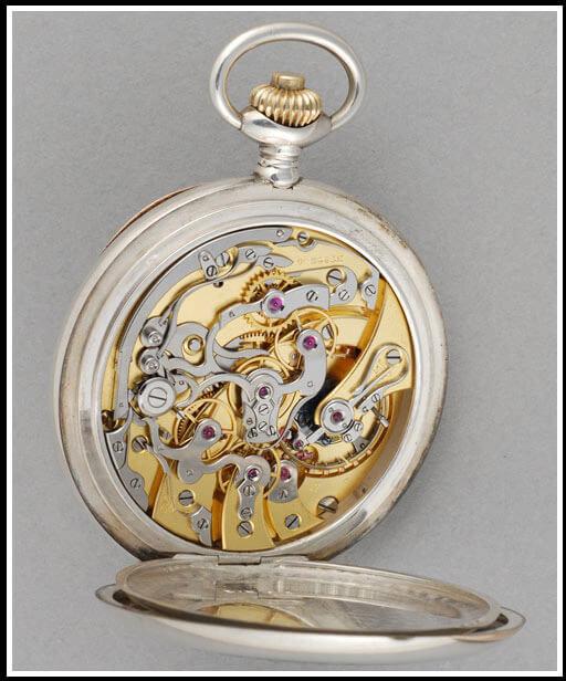 Ecole d'horlogerie de Genève. Mouvement chronographe « André Karlen », vers 1923 © MHE, photo : Sylvian Aubry