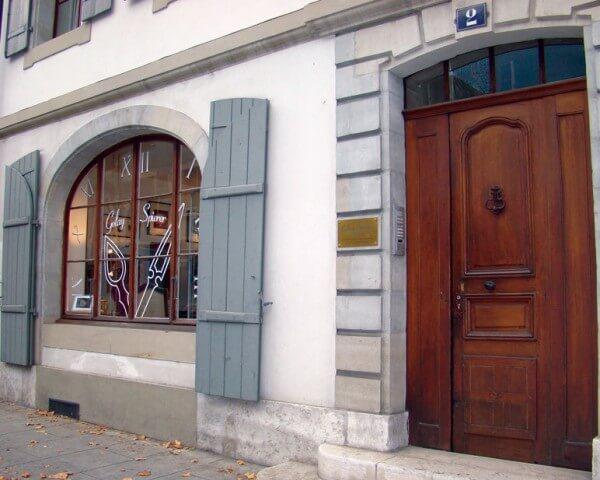 L'atelier de la marque se trouve à Carouge dans le canton de Genève © Golay Spierer