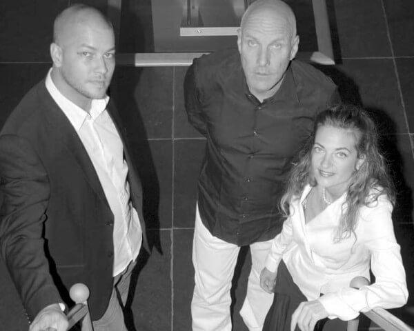 Fabrice Gonet, Jorg Hysek et Valérie Ursenbacher © HD3