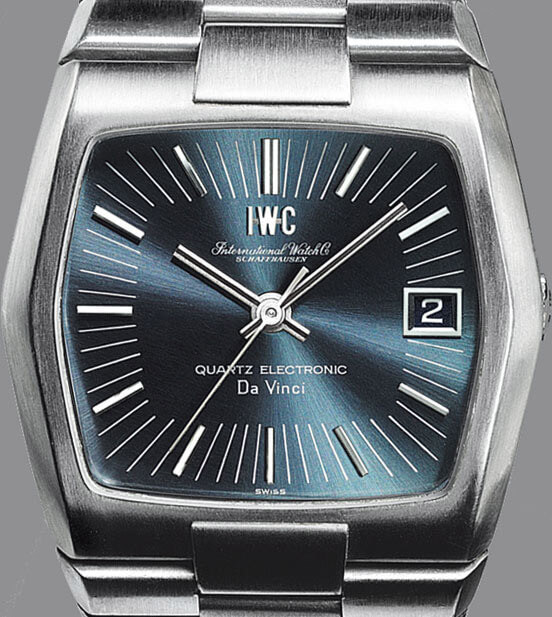 IWC Da Vinci Automatic from 1969 equipped with the first series-produced Beta 21 quartz movement © IWC