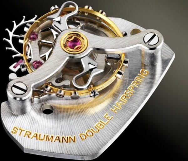 Module d'échappement à double spiral Straumann © H. Moser & Cie