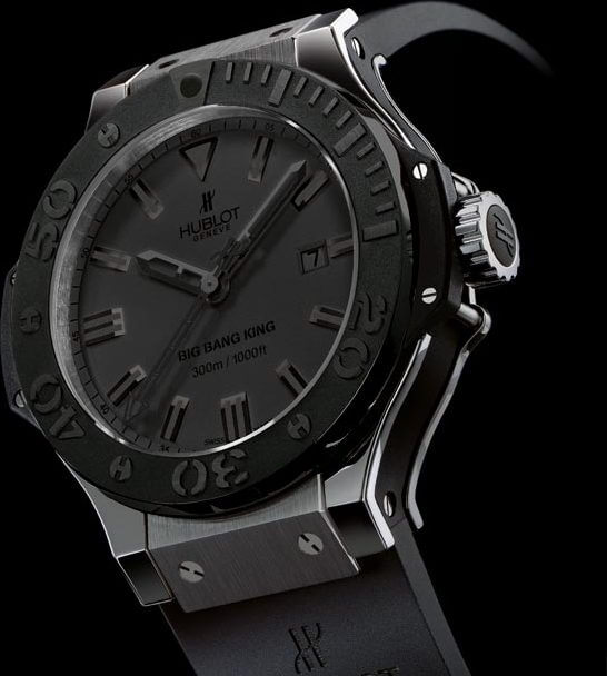 Big Bang All Black King © Hublot
