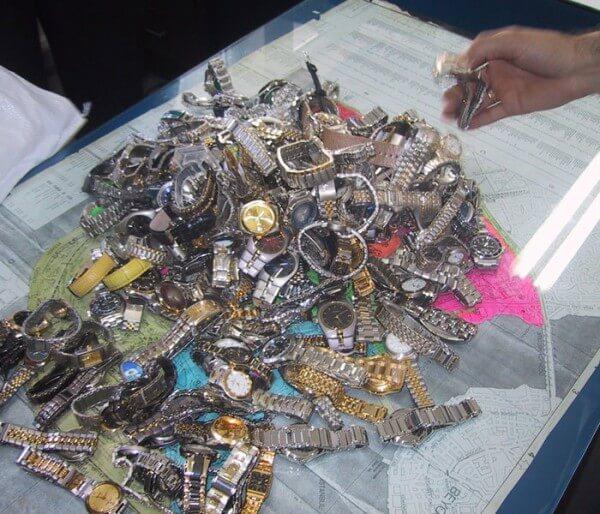 Saisie de montres contrefaites en Amérique latine © FH