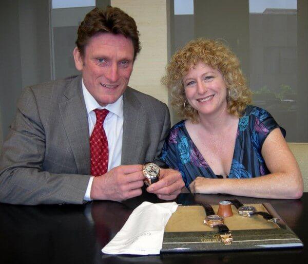 Stephen Forsey et Meehna Goldsmith © Meehna Goldsmith