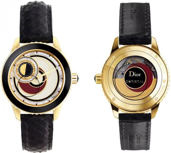 Montre Dior Christal « 8 » or et laque © Dior