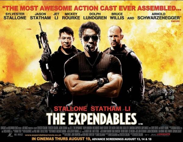 La dernière réalisation de Sylvester Stallone, sortie cet été, The Expendables