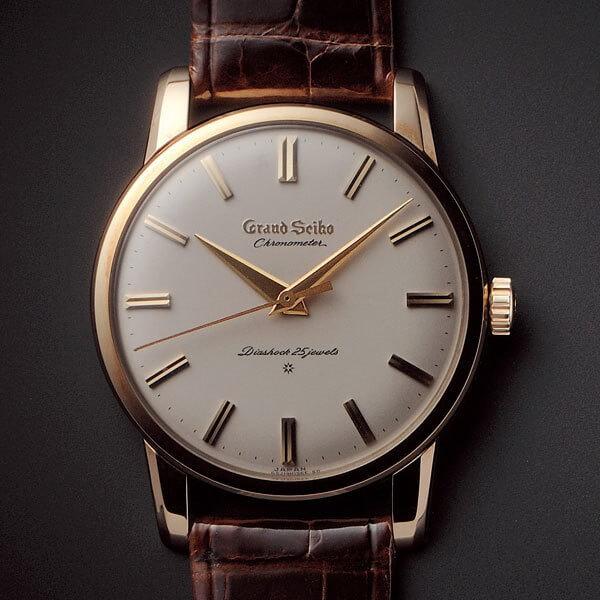 La première montre Grand Seiko de 1960 © Seiko