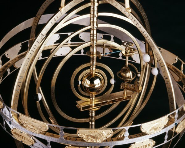 Projet Emosphère: horloge à sphère mouvante appartenant à la Kunstkamera de Saint-Pétersbourg © Fondation Horlogère