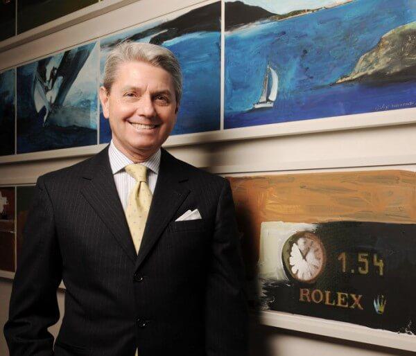 Gian Riccardo Marini a été nommé en qualité de nouveau Directeur général de Rolex SA © Marco Pagani