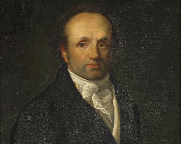 Abraham-Louis Breguet (1747-1823) - Huile sur toile, anonyme avant 1800 © Musée international d'horlogerie, La Chaux-de-Fonds