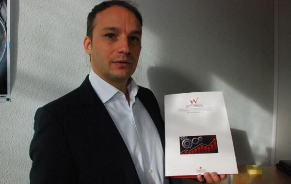 Jérôme Morel, fondateur et Managing Director de la société Odygos, qui commercialise Watch Analysis
