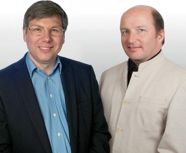 Andreas Strehler et Kari Voutilainen © Maîtres du Temps