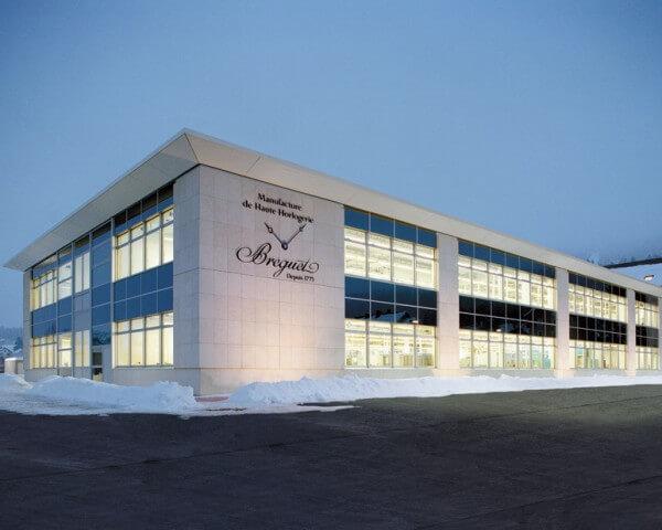 La manufacture Breguet, sise à l'Orient, Vallée de Joux © Breguet