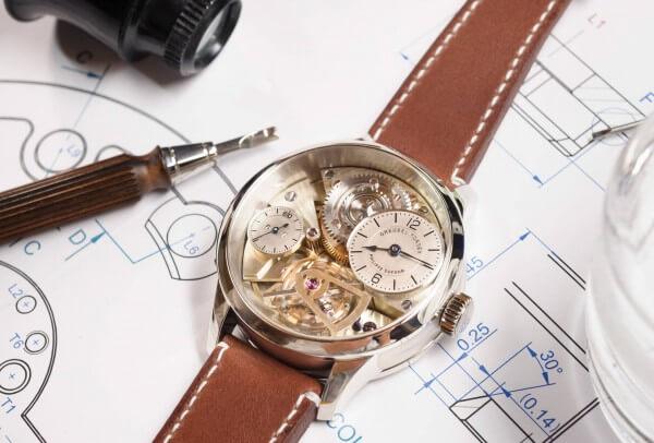 Greubel Forsey Naissance d'une montre