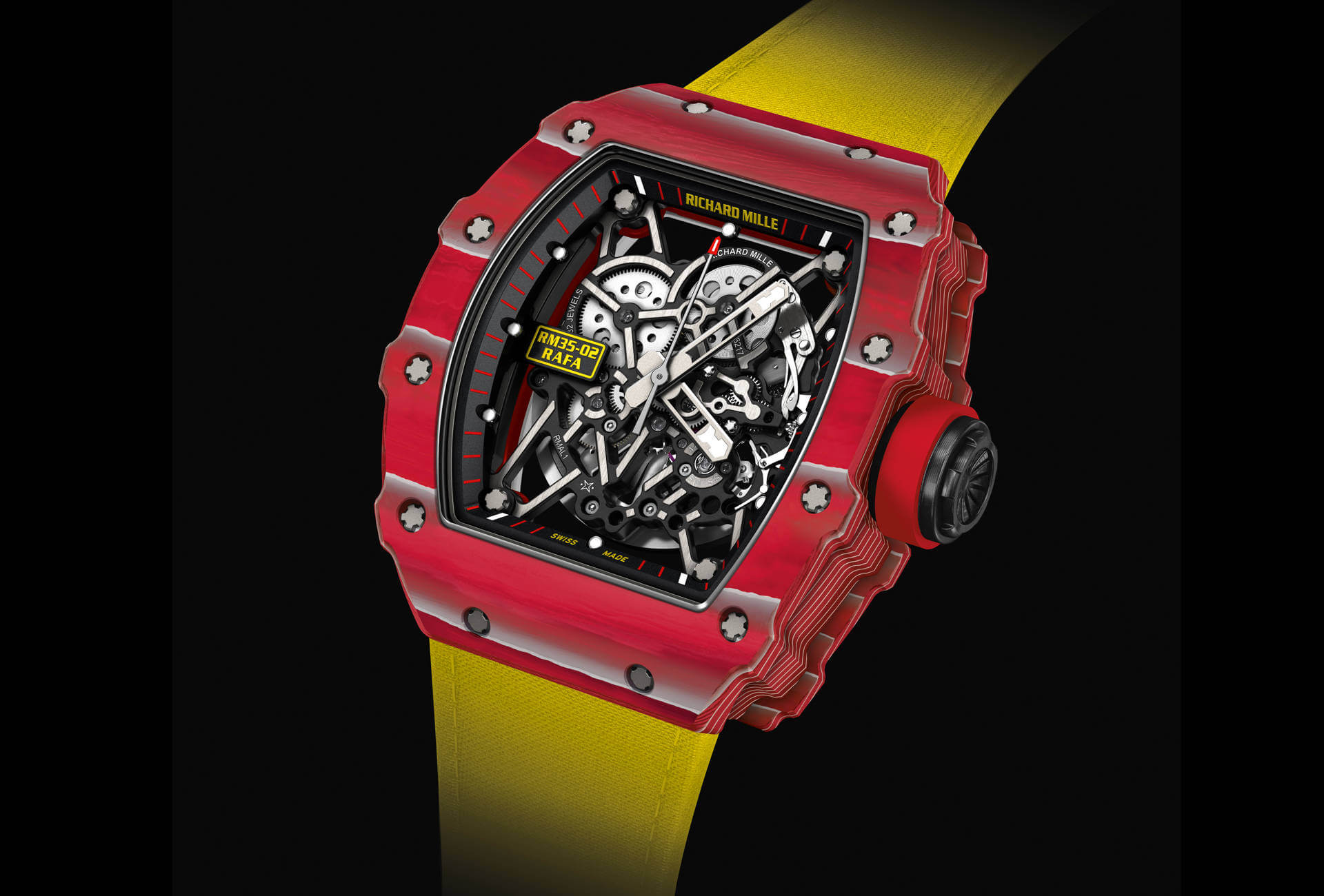 Richard Mille Rafael Nadal S New Automatic Watch Fhh Journal