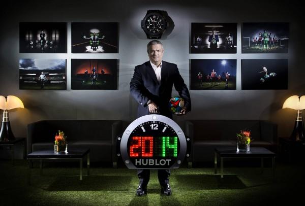 Hublot a dessiné le panneau du 4e arbitre pour l'UEFA EURO 2016.