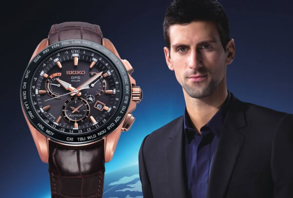 Novak Djokovic Astron Dual Time Djokovic Limited Edition Seiko