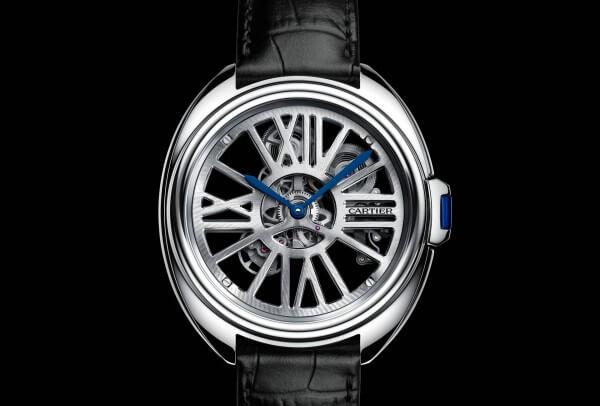 Cartier Clé de Cartier Squelette Automatique