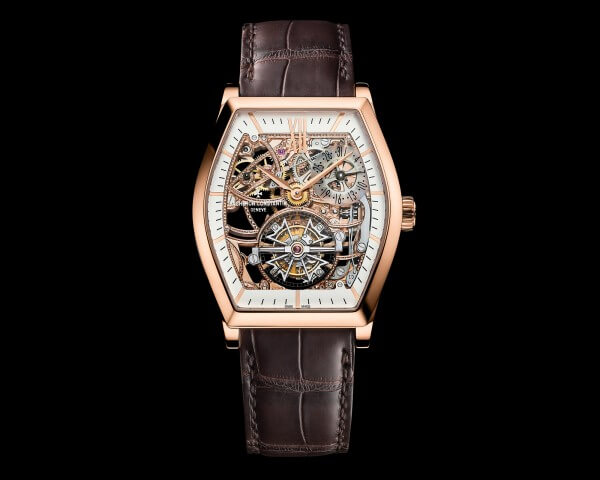 Malte Tourbillon Squelette or rose © Vacheron Constantin