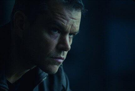 Matt Damon de retour dans son rôle iconique de Jason Bourne. © Universal Pictures
