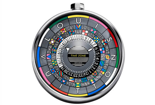 Louis Vuitton Pendulette Escale Time Zone