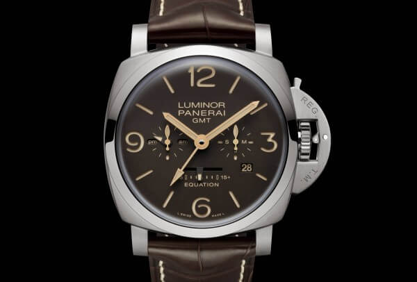 Panerai Luminor 1950 Equation of Time 8 Days GMT Titanio