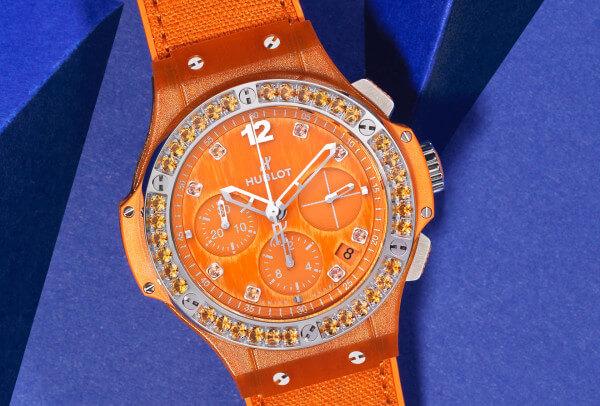Hublot Big Bang Linen Orange