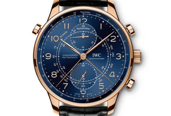 IWC Portugieser Chronograph Rattrapante Edition Boutique Milano Ref. IW371215