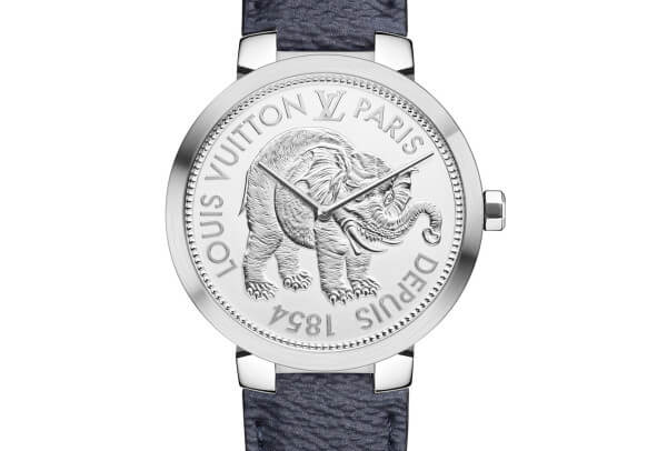 Louis Vuitton Tambour Slim Monogram Savane