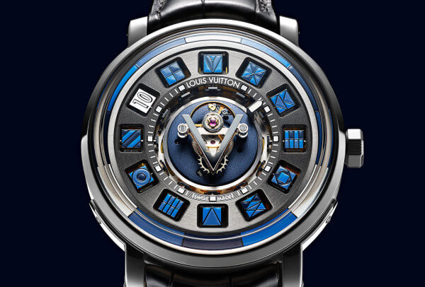 Louis Vuitton Escale Spin Time Tourbillon Central Bleue