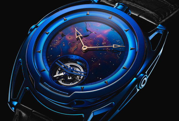 De Bethune DB28 Kind of Blue Tourbillon Météorite