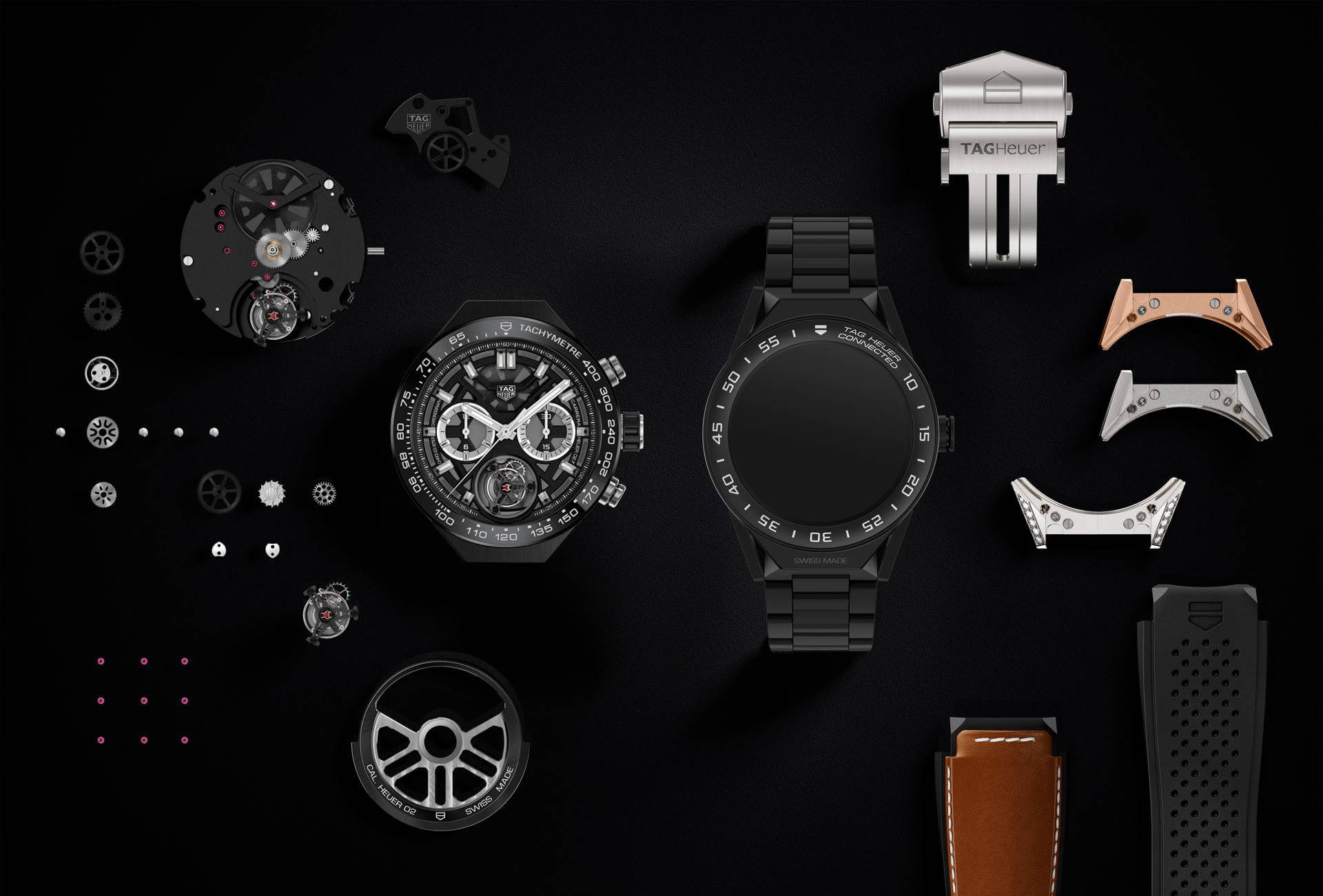 8fa6544fefa TAG Heuer Connects Big Time with Connected Modular 45 Smart Watch ...