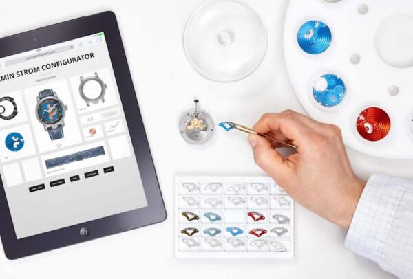 Armin Strom offre à ses clients l'opportunité de créer leur propre montre de A à Z.